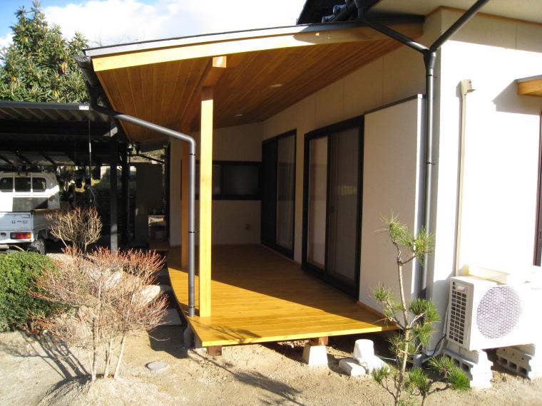 リフォーム工事「枇杷(びわ)の木のある家」